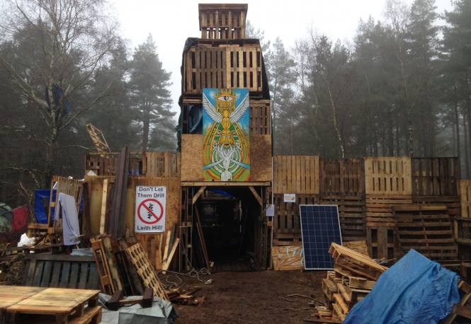 Leith Hill Protection Camp