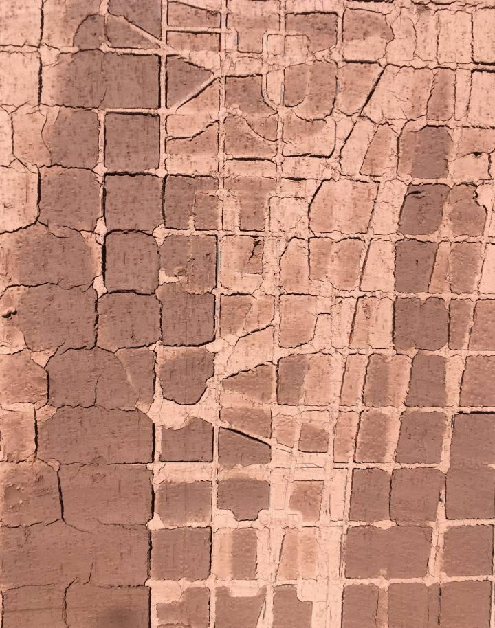 Raw clay grid