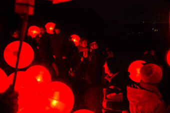One Moon lanterns - Mary Branson