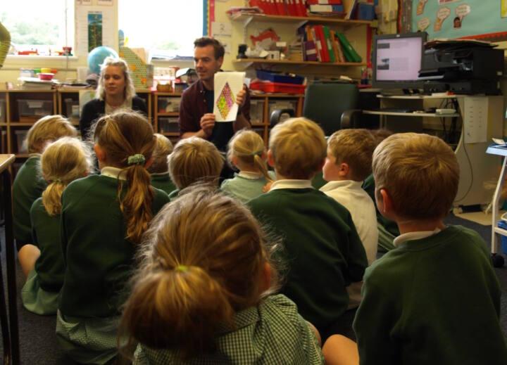 Giles Miller workshop with Peaslake Infants