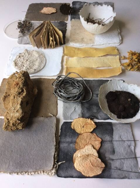 Collection of natural materials - Jane Ponsford