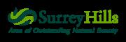 Surrey HIlls AONB logo