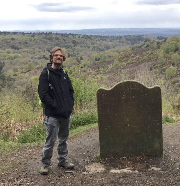 Jon Mason at Hindhead