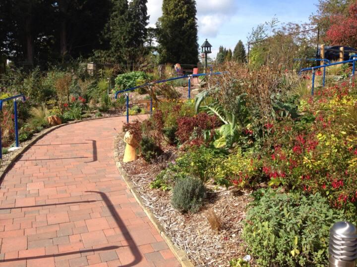 Broome Park garden