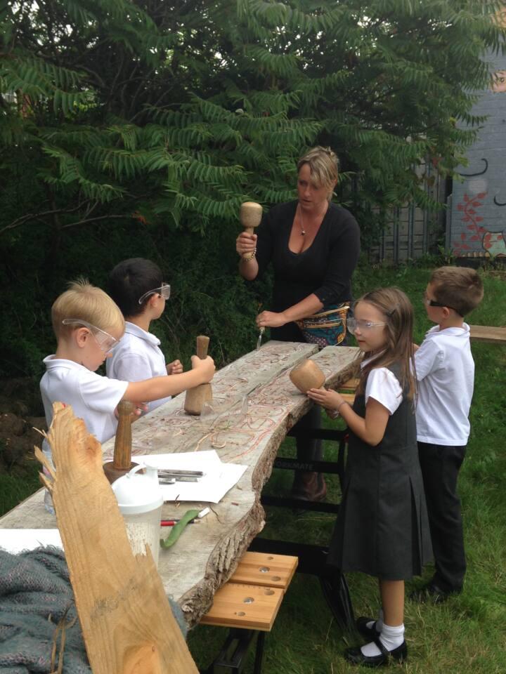 Spelthorne art workshop - Ruth Wheeler