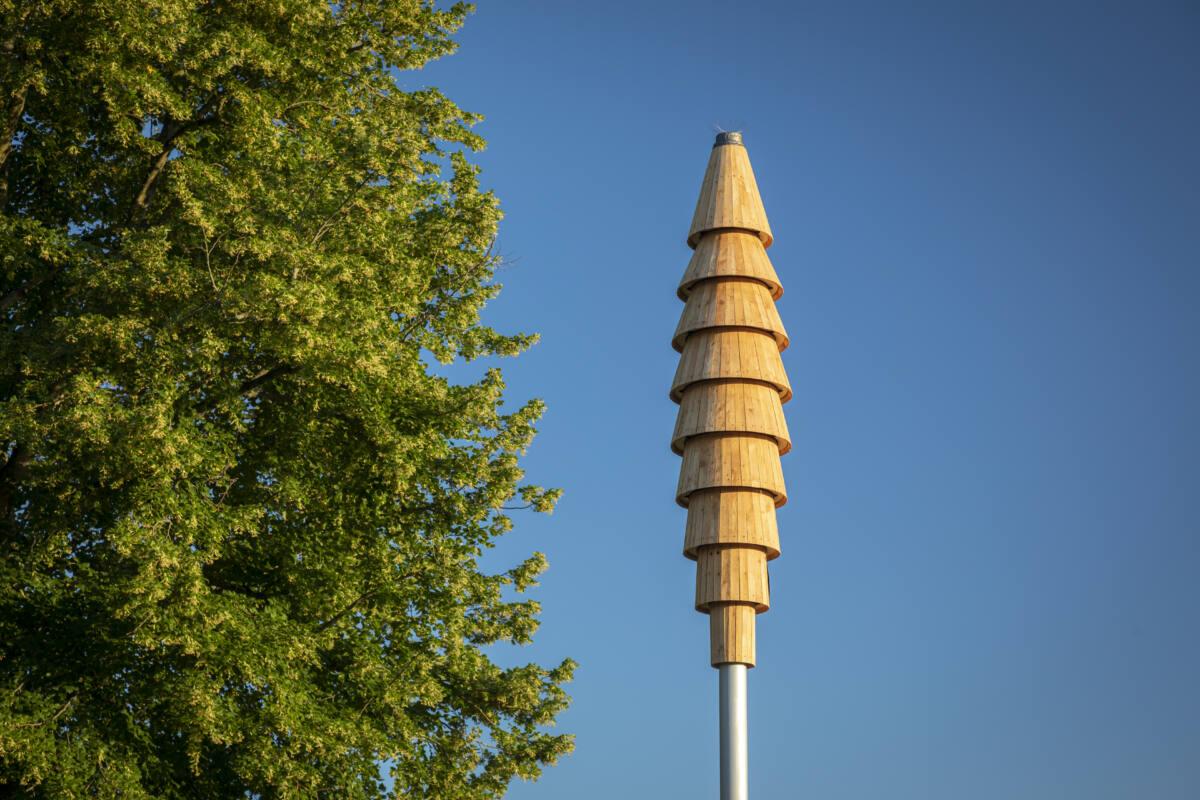 Swift Tower by Will Nash Photo: John Miller